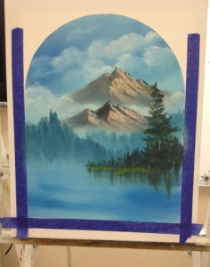 1-Mountain River progress 2