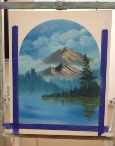 1-Mountain River progress 3