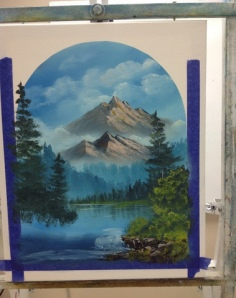 1-Mountain River progress 4