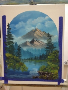 1-Mountain River progress 5