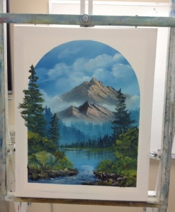 1-Mountain River progress 6