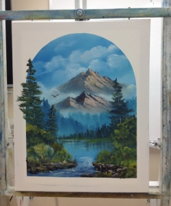 1-Mountain River progress 7