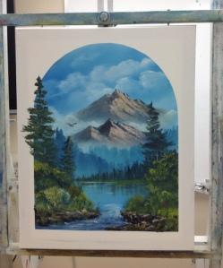 1-Mountain River progress 7