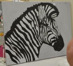 Zebra Shading stage 1 [Marylin]