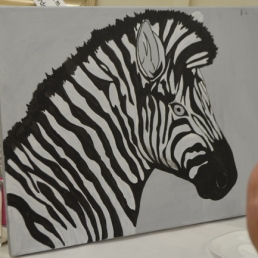 Zebra Shading stage 1 [Marylin]