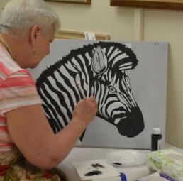 Zebra Shading stage 2 [Marylin]